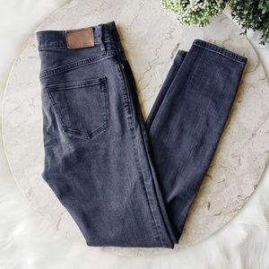 Madewell Black High Riser Skinny Jeans - 27
